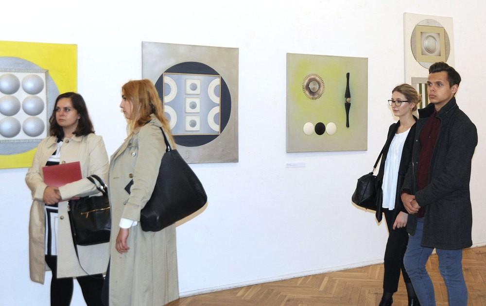 Wernisaż wystawy prac Mikołaja Kochanowskiego