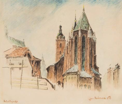 """""""Kraków. Prezbiterium Kościoła Mariackiego"""""""