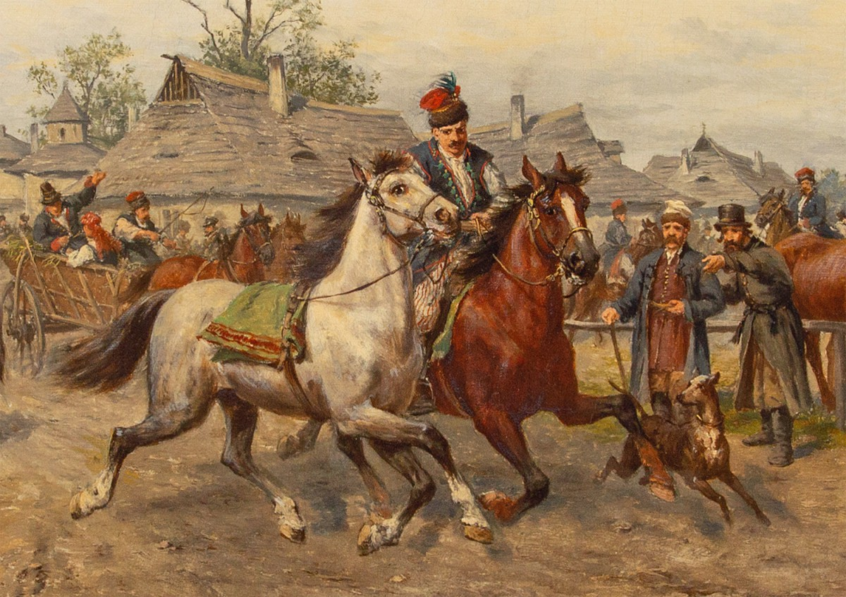 """""""Targ koński pod Krakowem"""""""