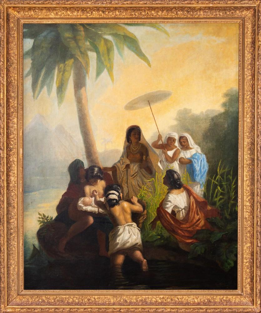 """""""Wyłowienie Mojżesza z Nilu"""""""