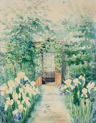 """""""Irysy w ogrodzie"""""""