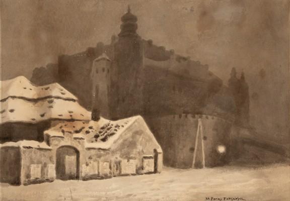 """""""Nocny widok na Wawel"""""""