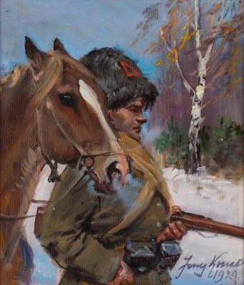 """""""Bolszewik z koniem"""""""
