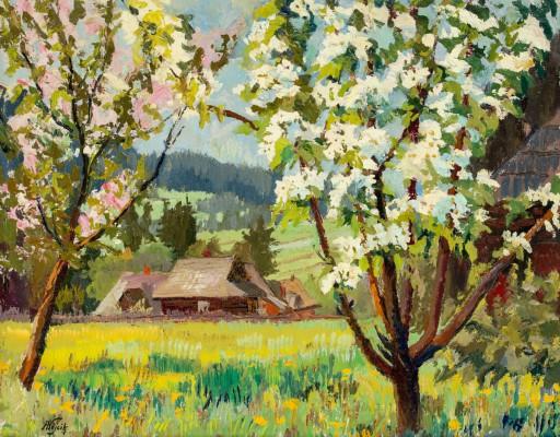 """Wiosna na Podhalu"""