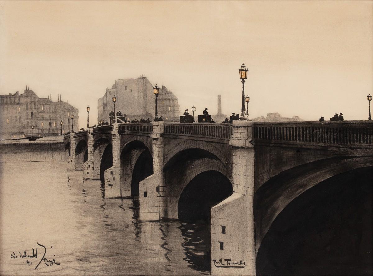 """""""Pont Tournelle w Paryżu"""""""