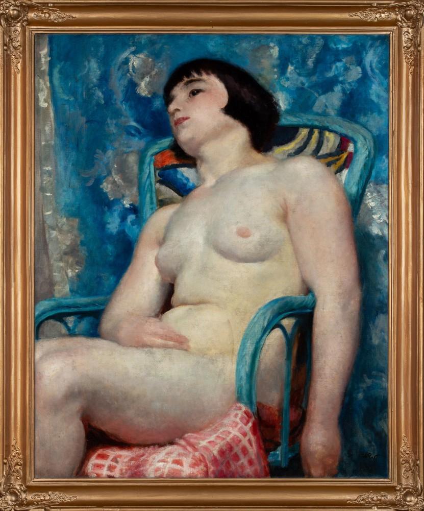 """""""Akt w niebieskim fotelu"""""""