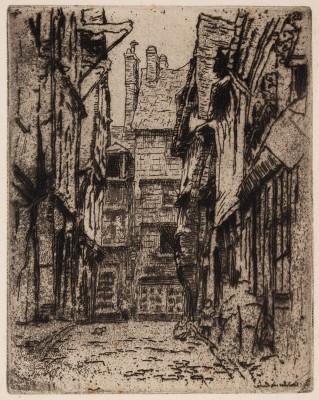 """""""Rue de la Boucherie w Caudebec en Caux"""""""