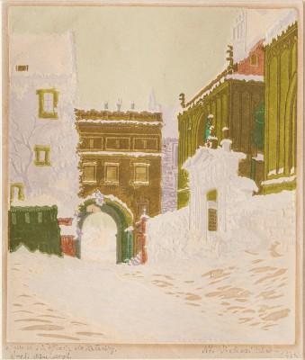 """""""Wawel. Wejście do Katedry"""""""