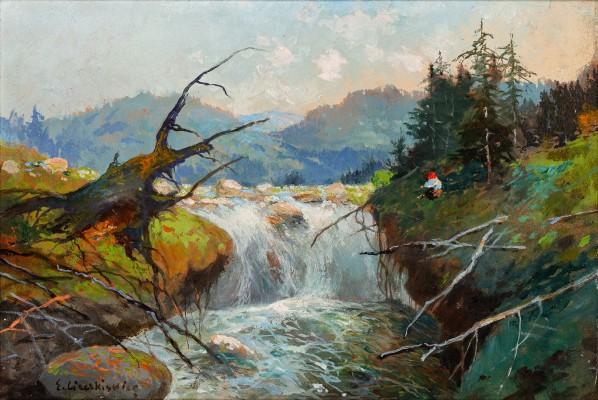 """""""Wodospad Wielki w Beskidzie"""""""