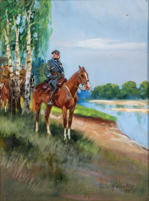 """Piłsudski na Kasztance"""