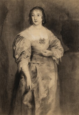 """Portret pani Spencer wg Anthony van Dyck'a"""
