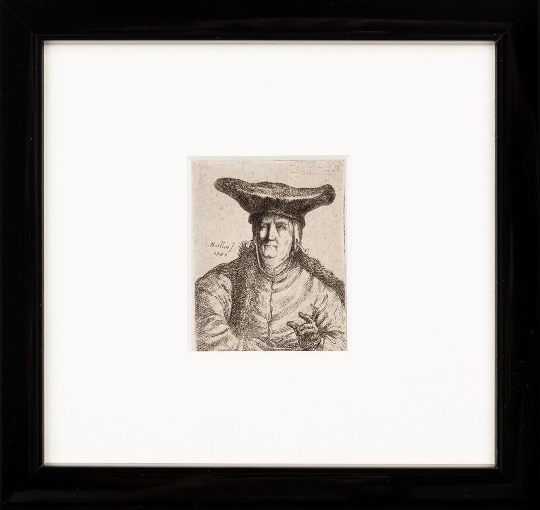 """""""Portret kobiety w szerokim czepcu"""""""