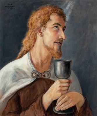 """Chrystus z kielichem"""