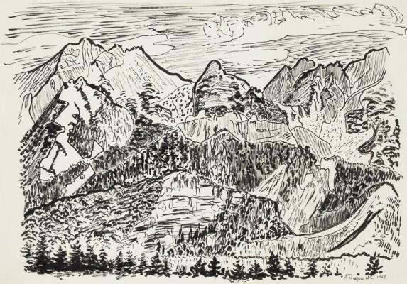"""Górska panorama"""