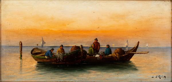 """""""Zachód słońca na morzu"""""""