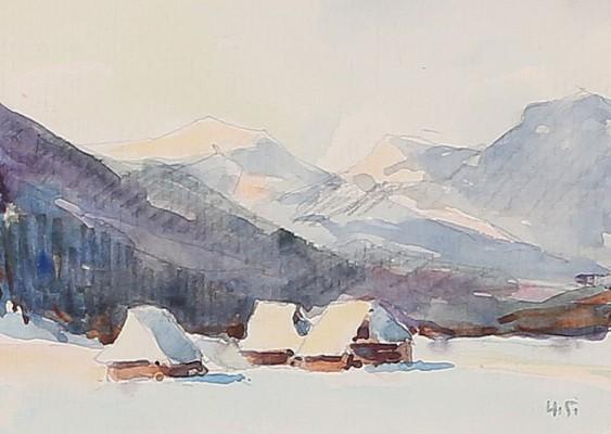 Zima w Tatrach - Dolina Kościeliska