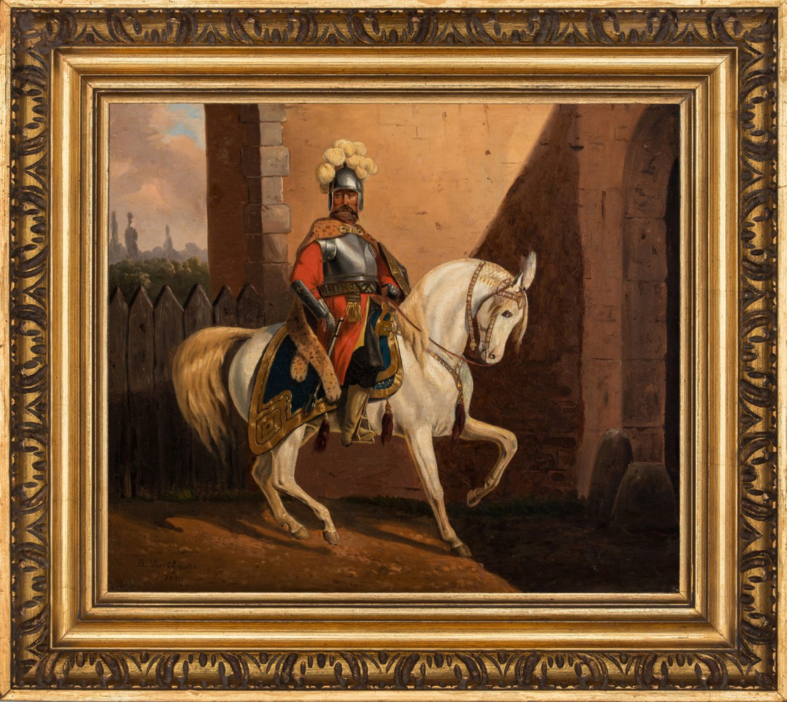"""Jan III Sobieski na koniu"""