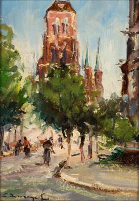 """""""Gdańsk. Kościół Mariacki"""""""