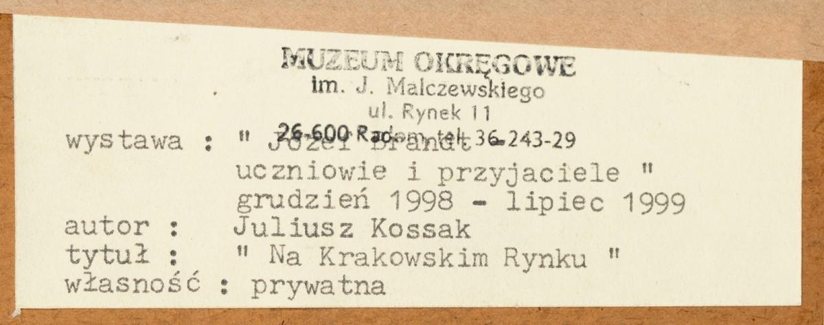 """""""Na krakowskim Rynku"""""""