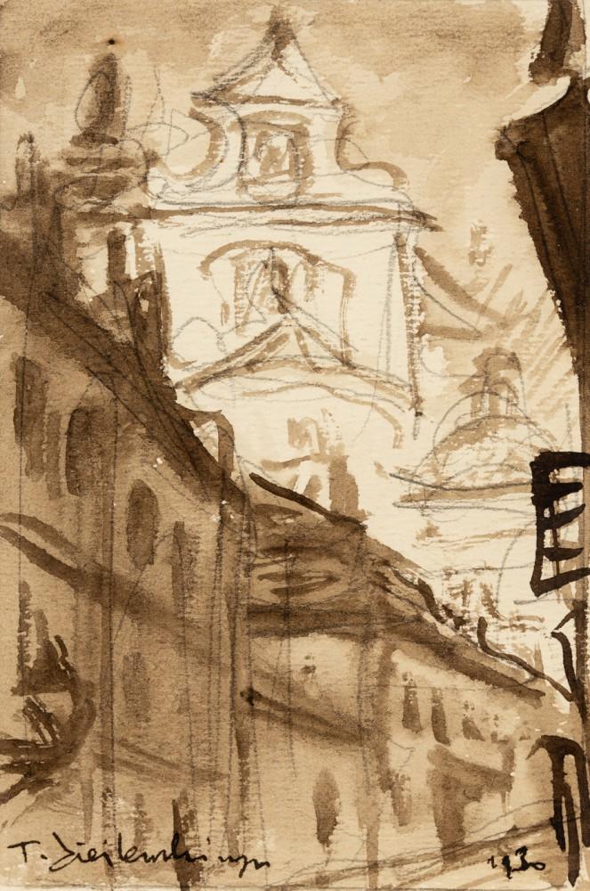 """""""Warszawa. Kościół Bernardynów"""""""