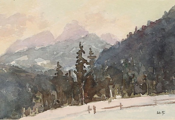 Zima w Tatrach - Kościelisko