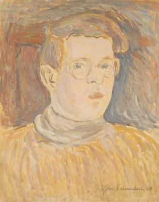 """""""Autoportret młodzieńczy w żółtym swetrze"""""""