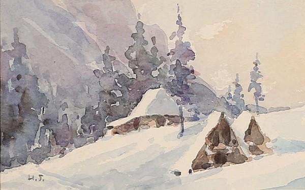 Zima w Dolinie Kościeliskiej