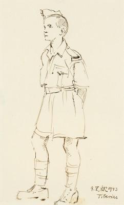 """""""Chłopiec w mundurze"""""""