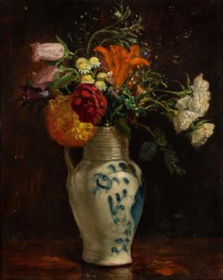 """""""Kwiaty w porcelanowym wazonie"""""""