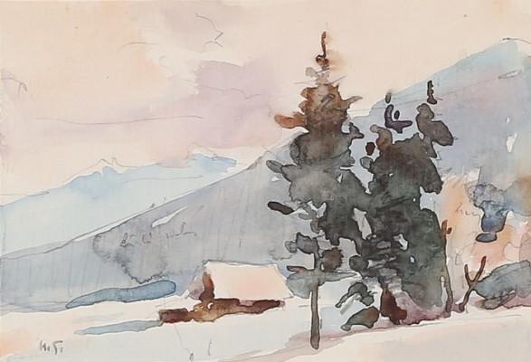 W Tatrach - Kościelisko zimą