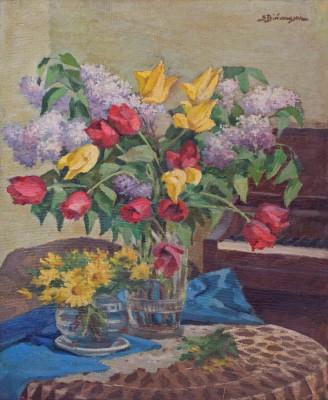 Tulipany i bzy