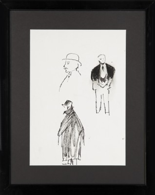 Szkice mężczyzn