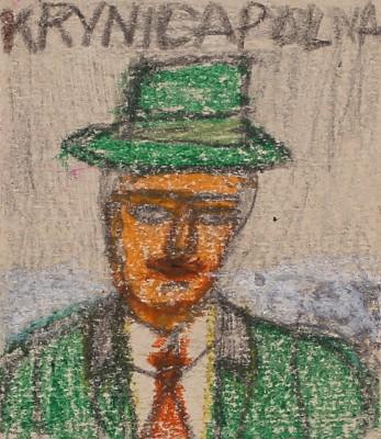 """""""Portret turysty w kapeluszu"""""""
