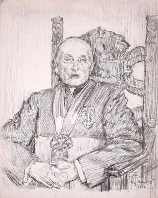 Portret księdza prałata z Malanowa
