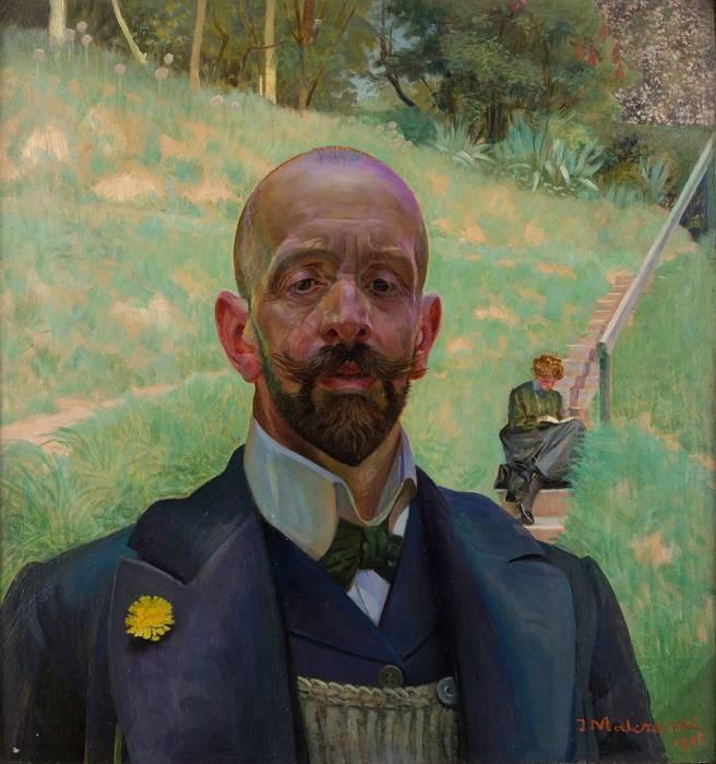 Autoportret z muzą