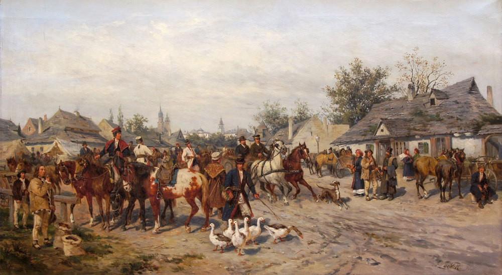 Targ pod Krakowem
