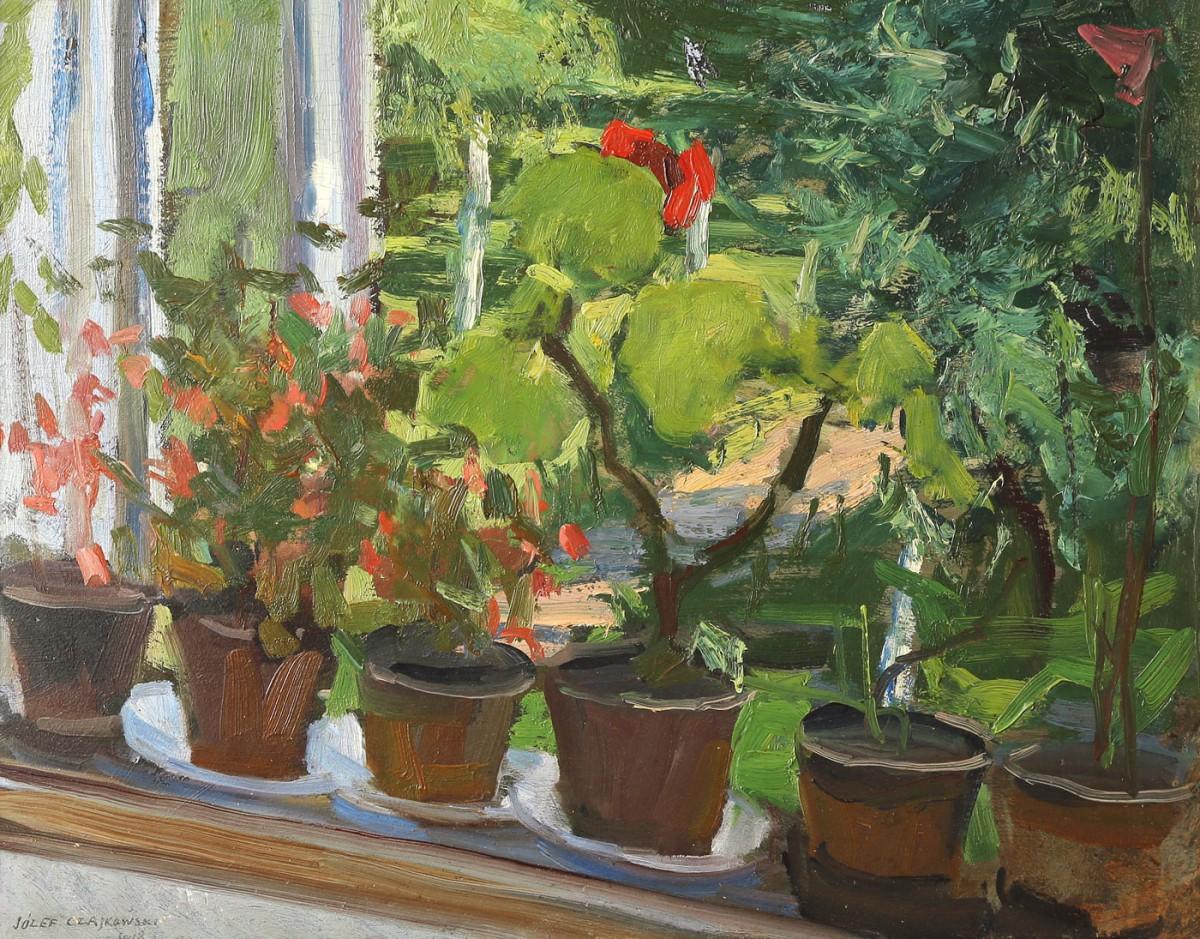 """""""Pelargonie w oknie"""""""