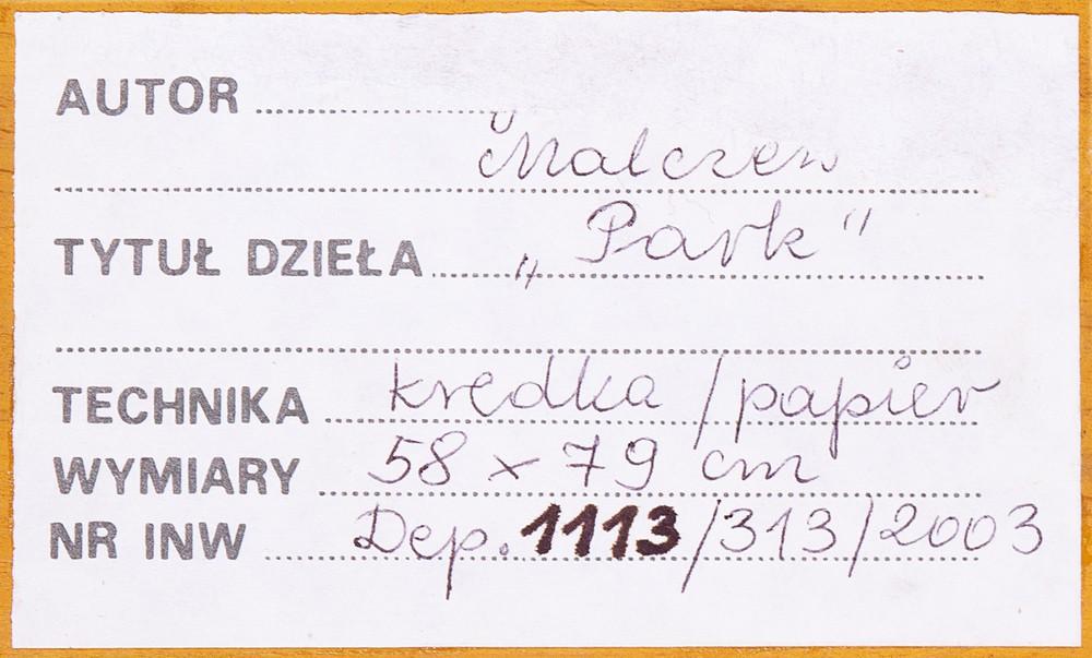 """""""Park w Lusławicach"""""""