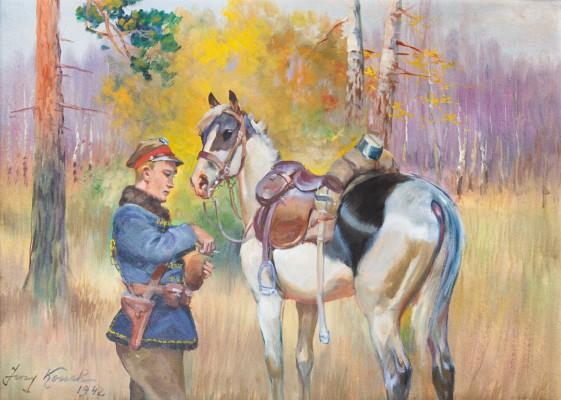 """""""Ułan z koniem"""""""